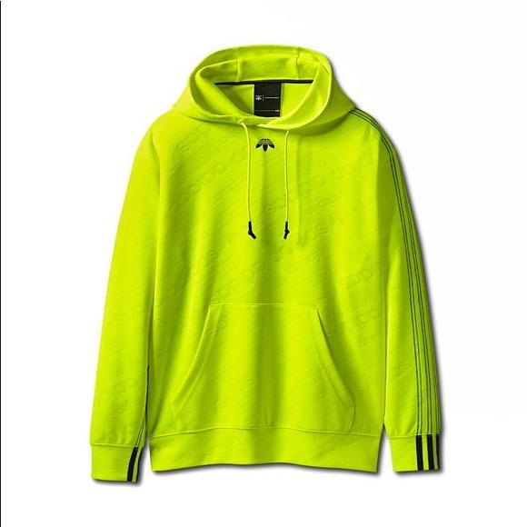 Alexander Wang x Adidas: Jacquard Hoodie [Green]